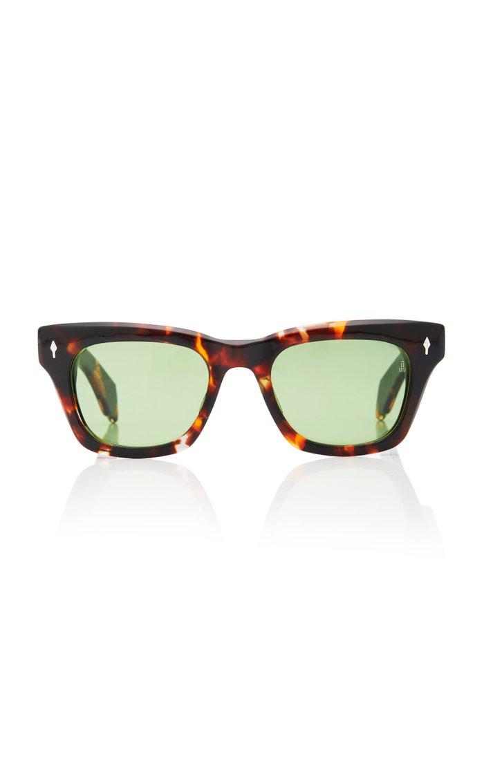 Dealan Square-Frame Acetate Sunglasses