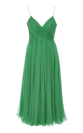 Sarrana Silk Slip Dress