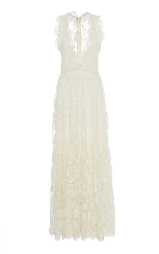 Havana Lace Maxi Dress