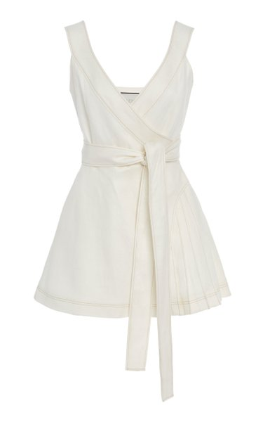 Catia Linen Mini Dress