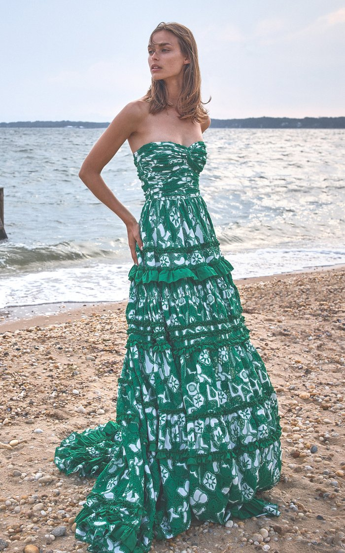 Samanta Tiered Ruffle Cotton Dress