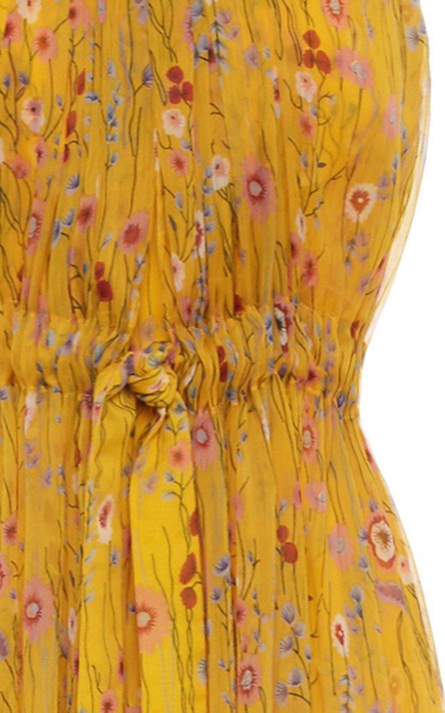 Janina Printed Tulle Jumpsuit