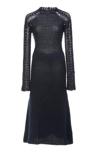 Pirka Woven Midi Dress