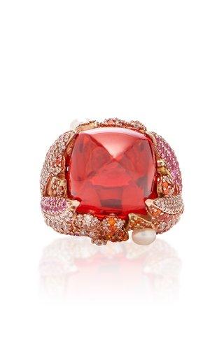 Goldenberry 18K Rose Gold Multi-Stone Ring