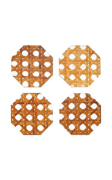 Set-Of-Four Hexagon Coasters