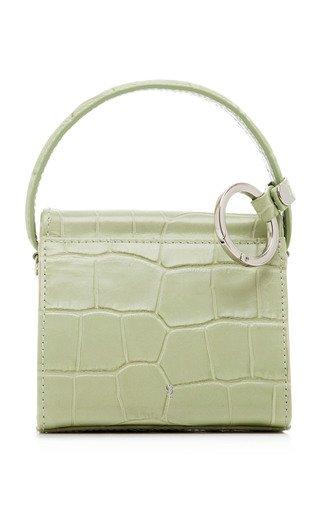 Mini Croc-Effect Leather Play Bag