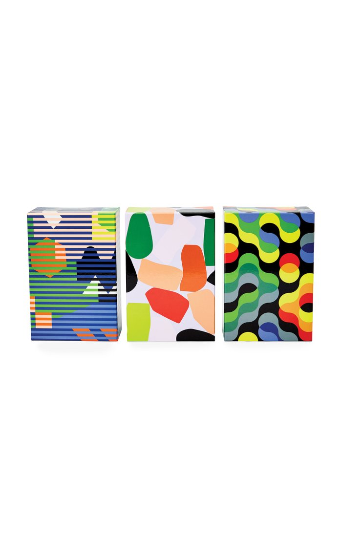 Set-Of-Three Dusen Dusen Pattern Puzzles