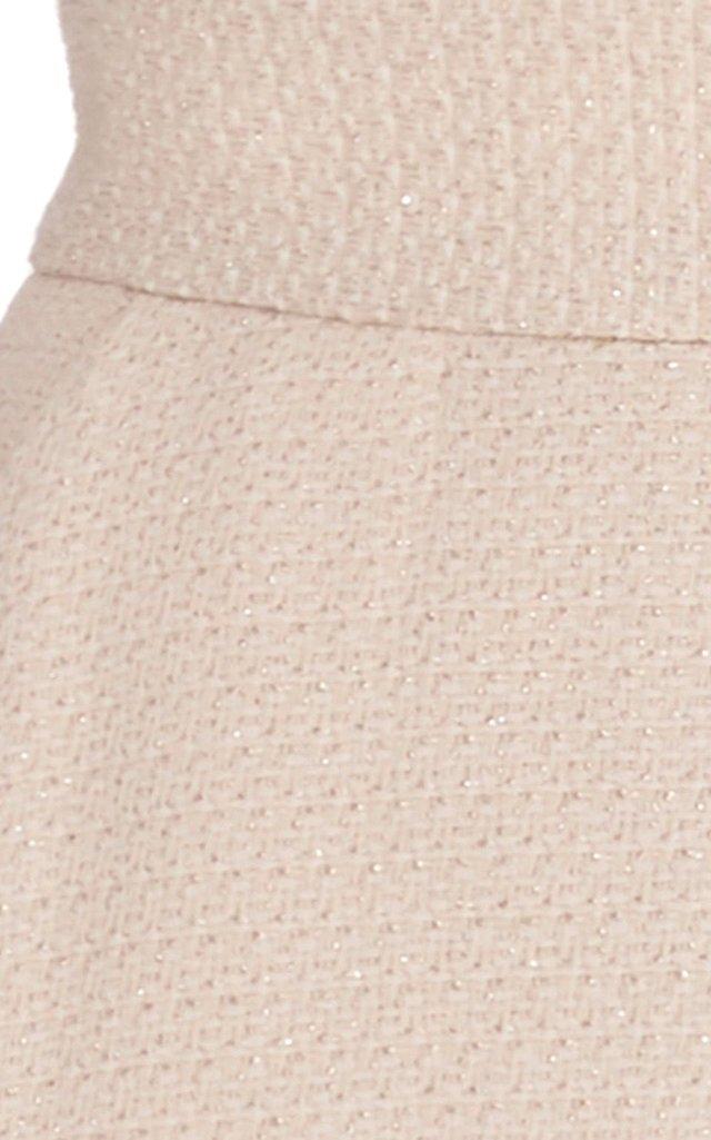 Cream Tweed Culotte