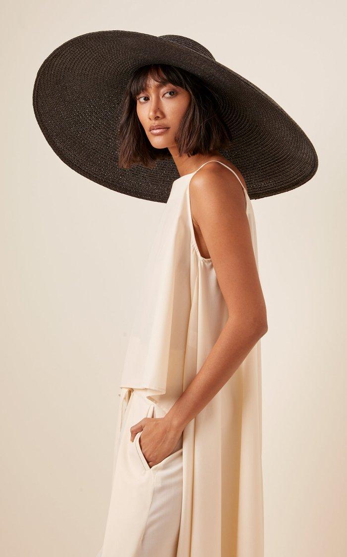 Giant Floppy Woven Hat