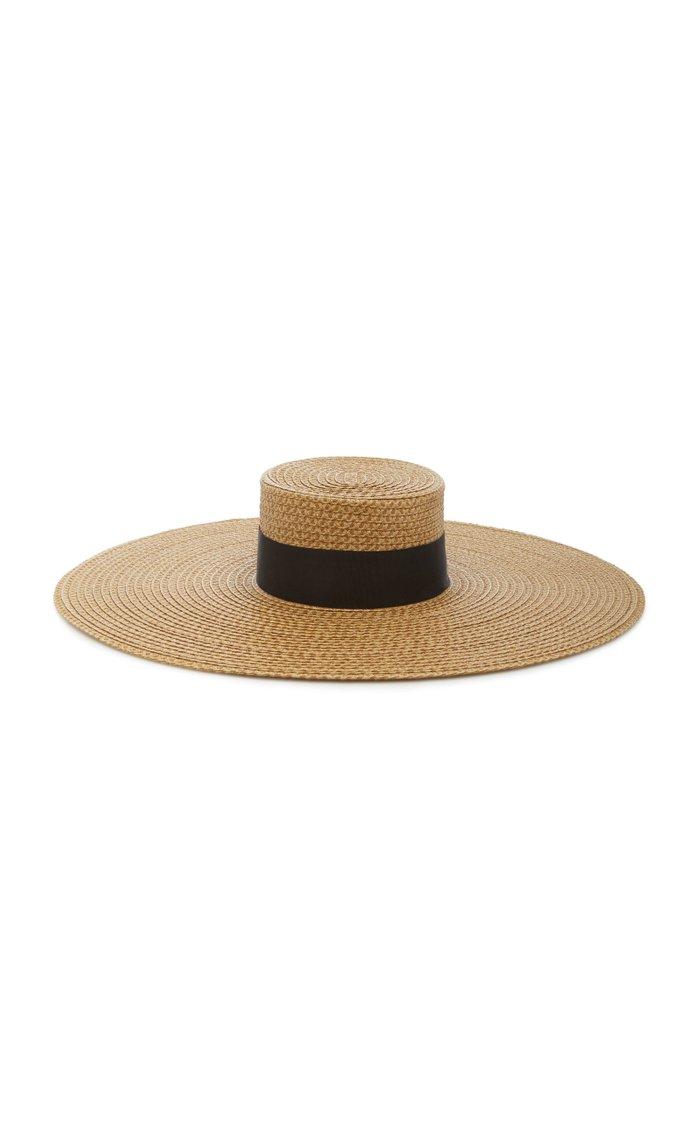 Bey Oversized Woven Hat