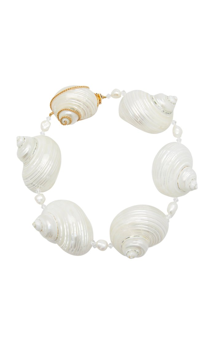 Sterling Silver Shell Necklace