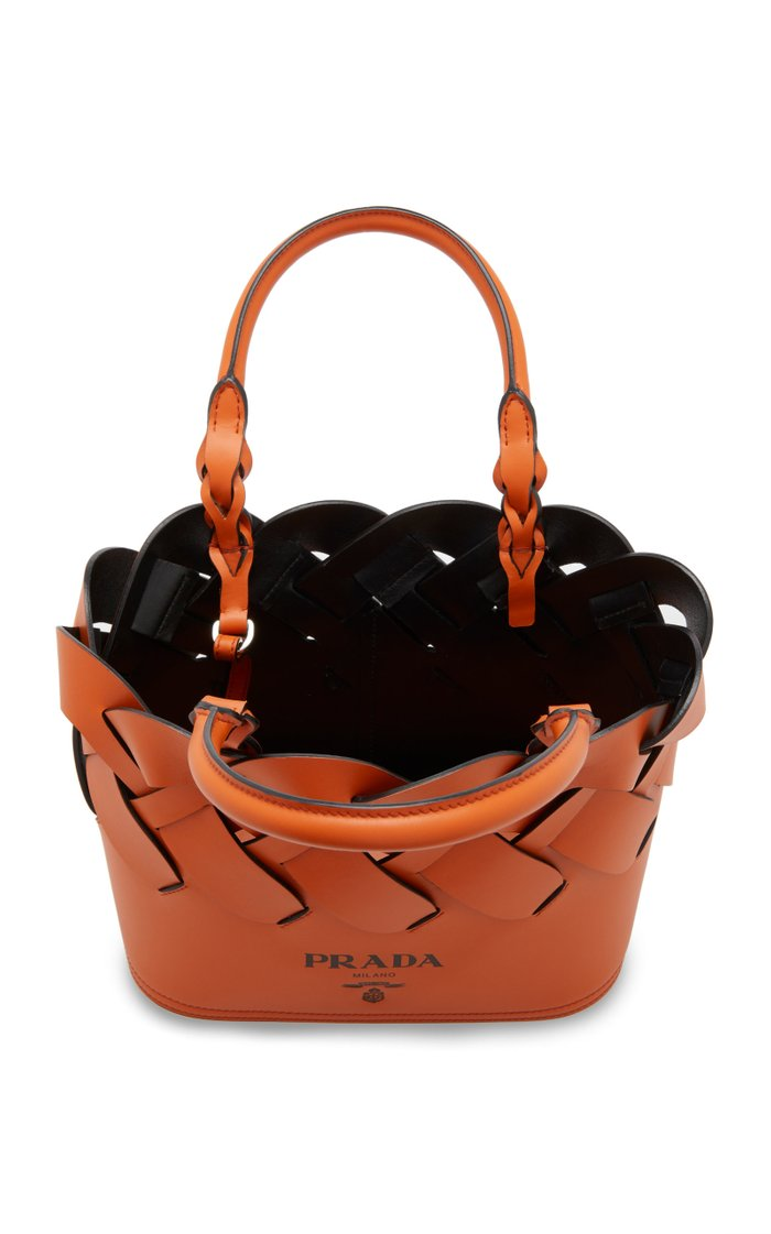 Leather Tress Tote