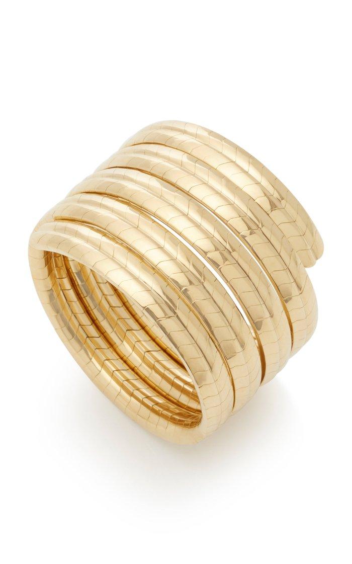 Eve 18K Yellow-Gold Coil Bracelet