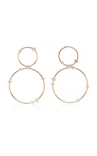 Circus 18K Yellow-Gold and Diamond Earrings
