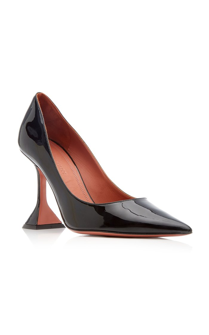 Ami Leather Pumps