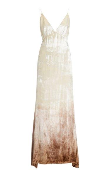 Imogen Ombré Velvet Gown