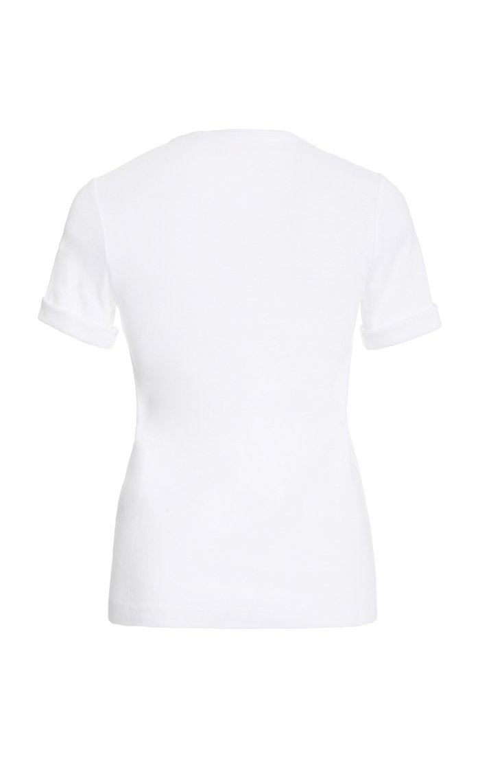 Sadie Crewneck Cotton T-Shirt
