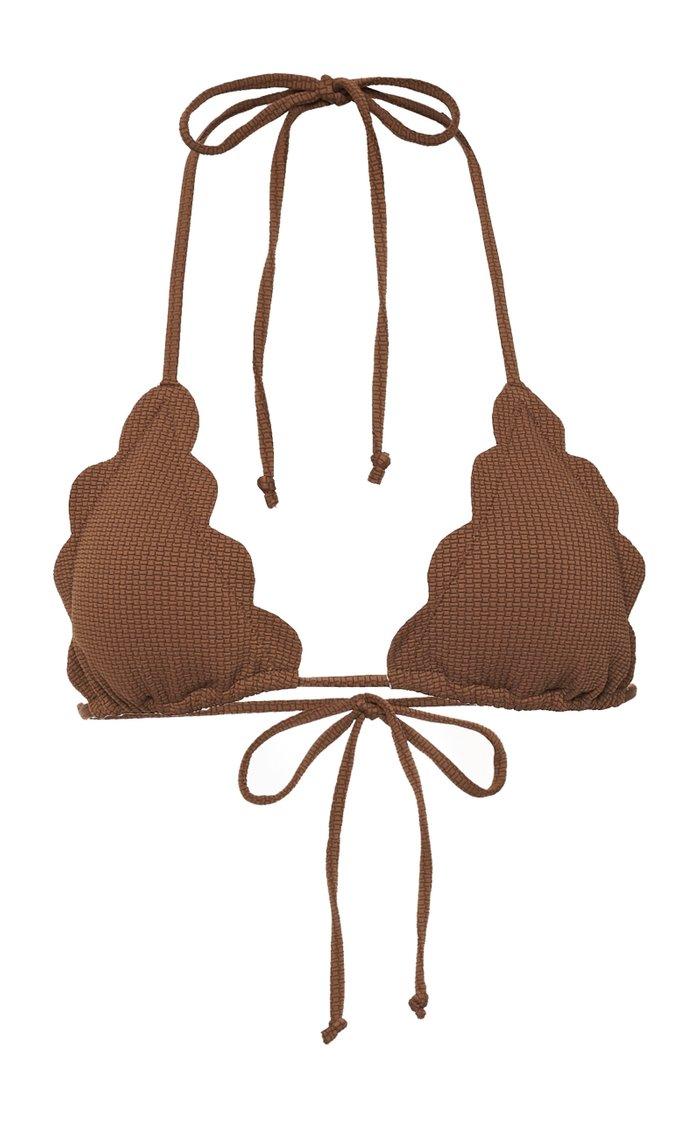 Broadway Scalloped Bikini Top