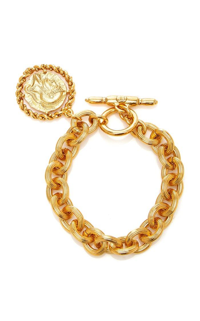 Constantine Coin Brass Bracelet