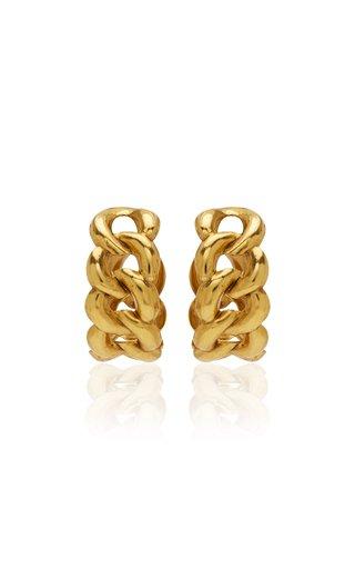 Tara Plated Brass Hoops