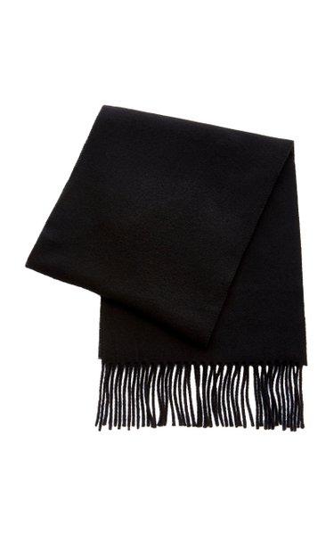Bova Fringed Wool-Blend Scarf
