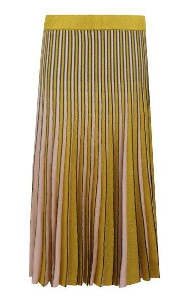 Cyrilla Pleated Multicolor Skirt