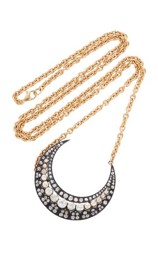 One-Of-A-Kind Antique 14K Gold And Diamond Necklace
