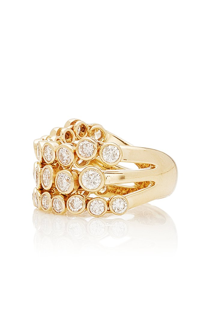 Avalon 14K Gold and Diamond Ring