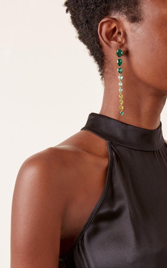 Emerald Nova Earrings