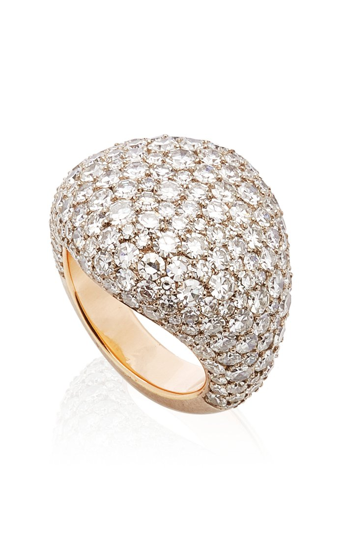 One of a Kind Snowball Ring