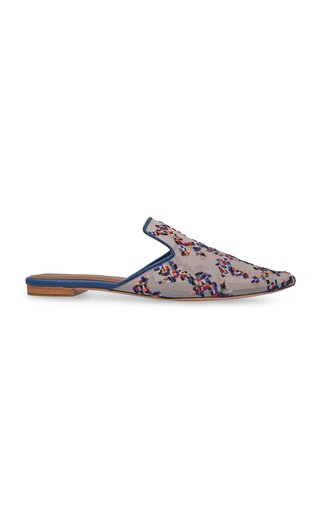 Amby Embroidered Mules