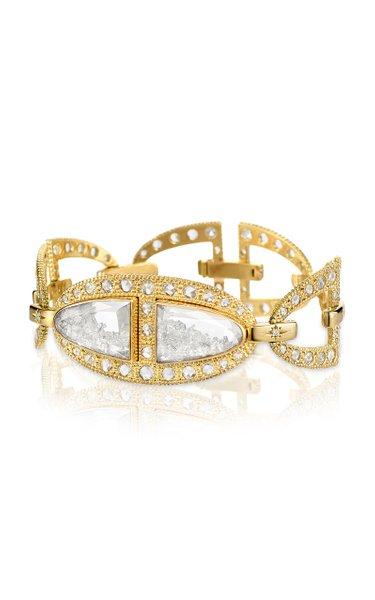 Kaleidoscope Shaker Diamond 18K Gold Bracelet