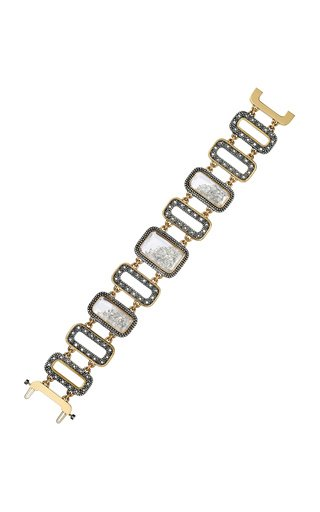 Diamond Kaleidoscope Shaker Bracelet