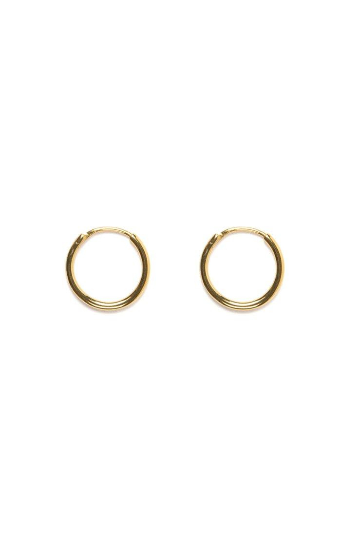 Gold Mini Mondo Hoops
