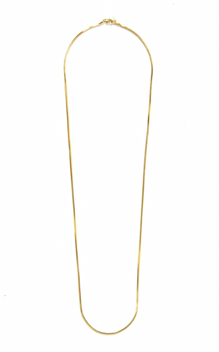 Gold Placebo Chain Necklace