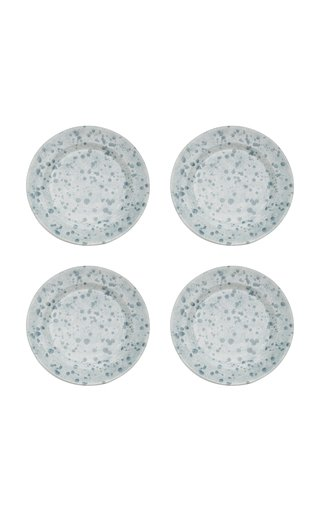 Set-of-Four Ceramic Dinner Plates