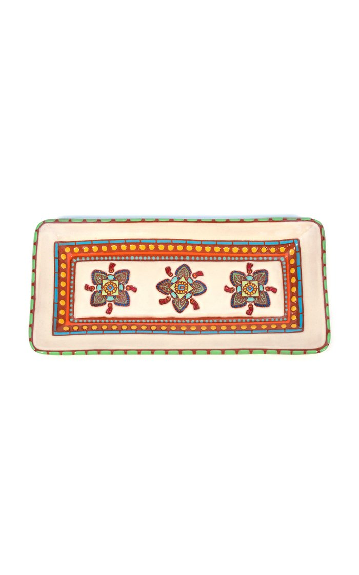 Quatrefoil Rectangular Platter