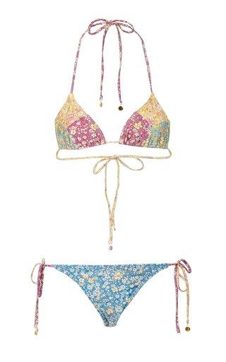 Carnaby Patchwork Floral Bikini