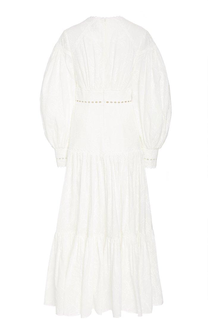 Hender Cotton-Eyelet Maxi Dress