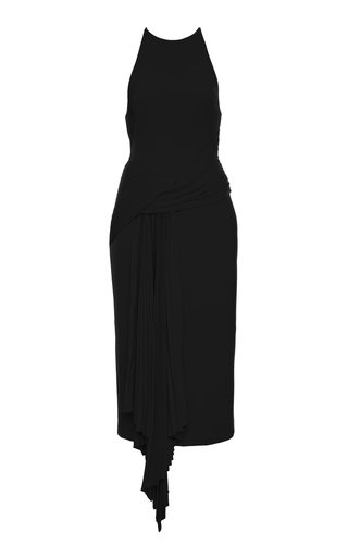 Bercy Draped Jersey Midi Dress