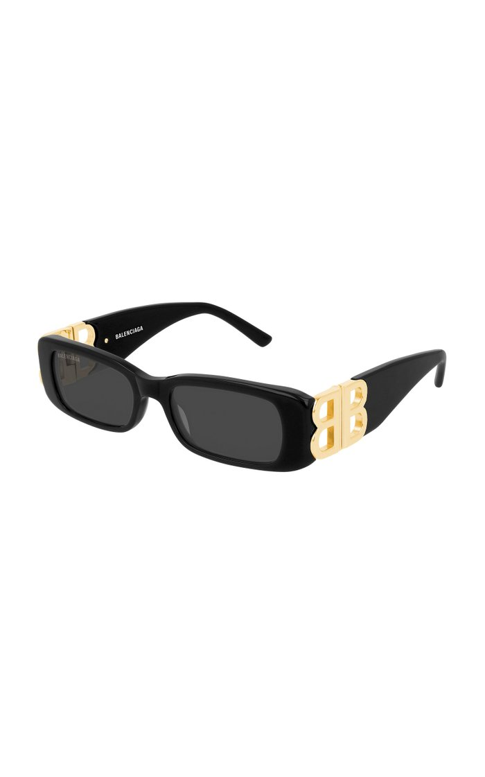 Dynasty Square-Frame Acetate Sunglasses
