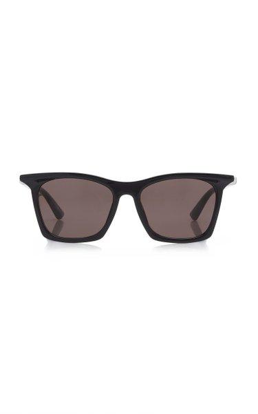 Rim Square-Frame Acetate Sunglasses
