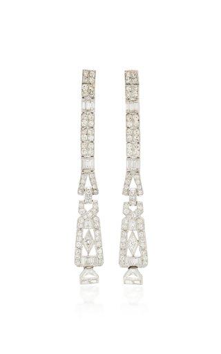 Multi-Cut Diamond Drop Earrings