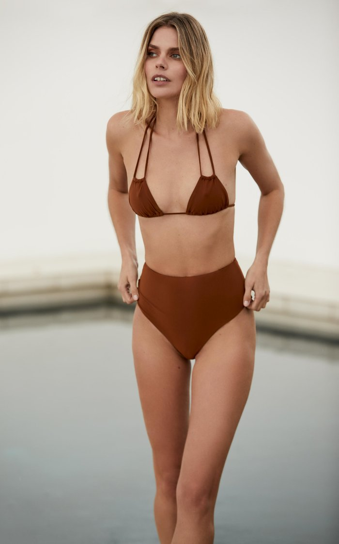 The Jane Double-String Bikini Top