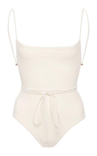 Open-Back Swimsuit