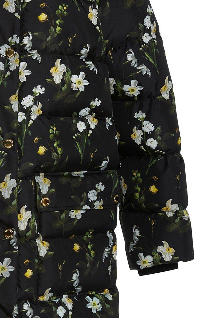 Daura Floral Puffer Coat