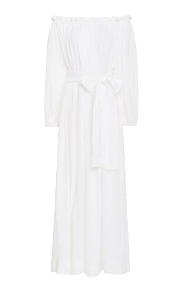 Pegasi Cotton Beach Gown