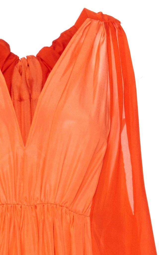 Inana Silk Maxi Dress