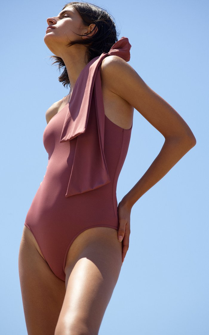 Clementine Knotted One Piece Swimsuit