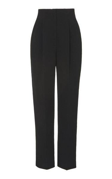 Gus Cady High-Rise Straight-Leg Pants